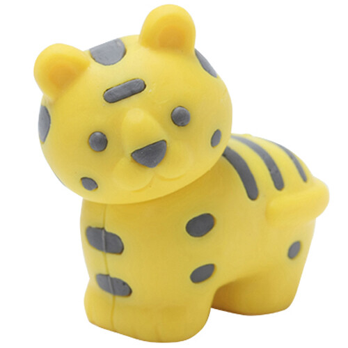Iwako Puzzle Eraser - Safari - Tiger (Yellow)