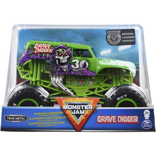 Monster Jam 1:24 - Grave Digger 30th Anniversary