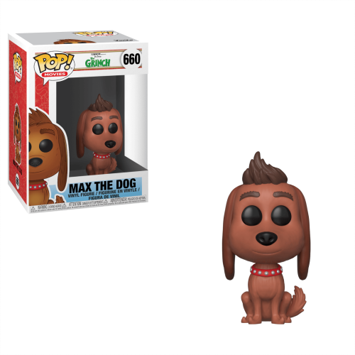 Funko Pop Vinyl Max the Dog 660
