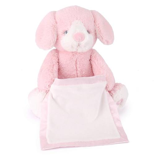 Gund Talks and Plays - Peek-A-Boo Puppy Pink