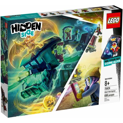 Lego 70424 Hidden Side Ghost Train Express