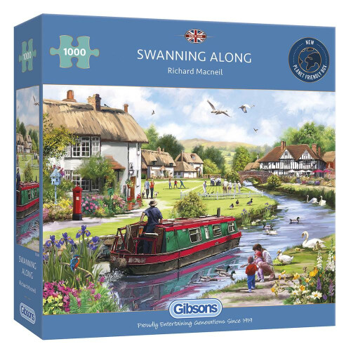 Gibsons Swanning Along 1000pc Puzzle