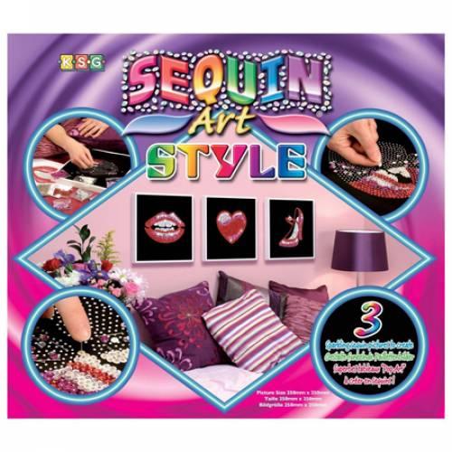 Sequin Art Ltd. Sequin Art Style Pop Art 1 Lips 1043