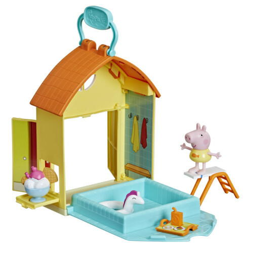 Peppa Pig Peppa's Adventures Peppa's Swimming Pool