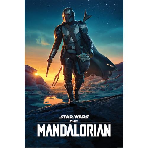 Maxi Posters - Star Wars: The Mandalorian (Nightfall)
