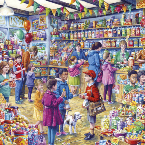 Gibsons The Old Sweet Shop 1000pc