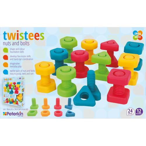 Twistees Nuts and Bolts