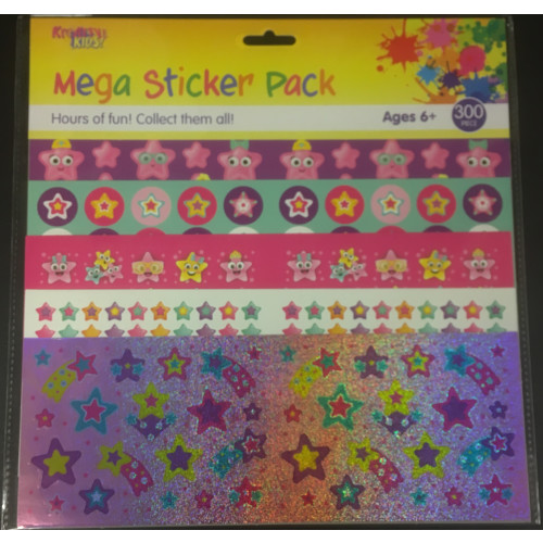 Mega Sticker Pack - Stars
