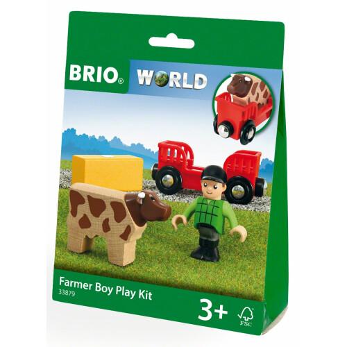 Brio 33879 Farmer Boy Play Kit