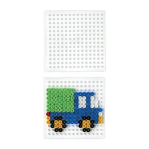 Hama Beads Single Pegboard 220 Small Square