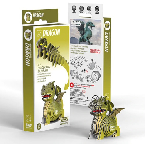 Eugy - 3D Model Craft Kit - Dragon