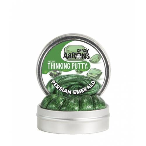 Crazy Aarons Thinking Putty Precious - Persian Emerald