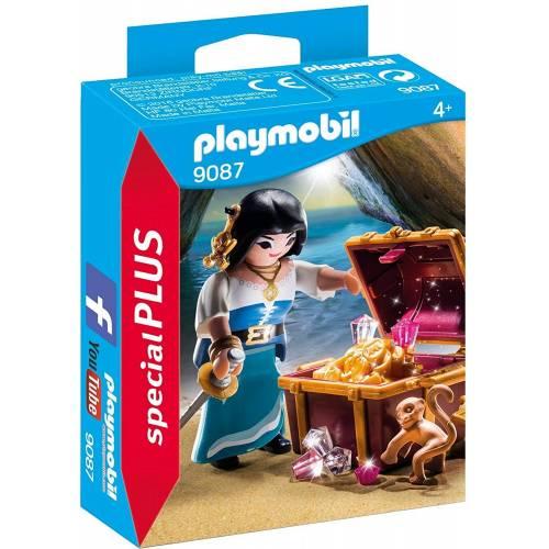 Playmobil 9087 Pirate with Treasure