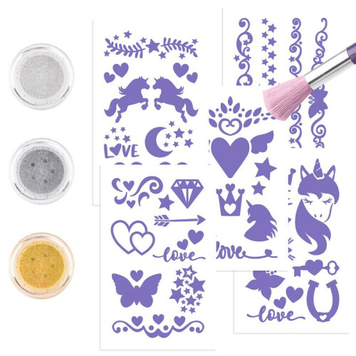 Depesche Ylvi & the Minimoomis Glitter Tattoo Set