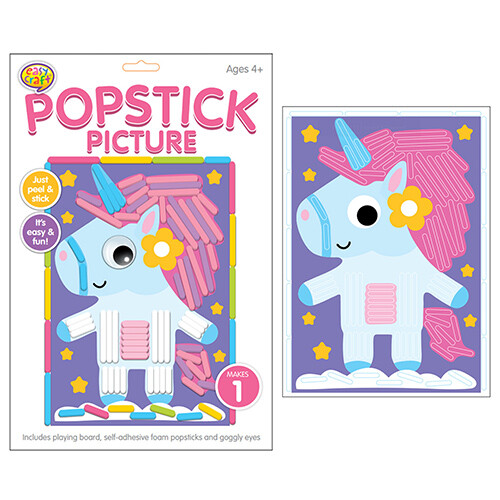 Kreative Kids - Popstick Picture Unicorn