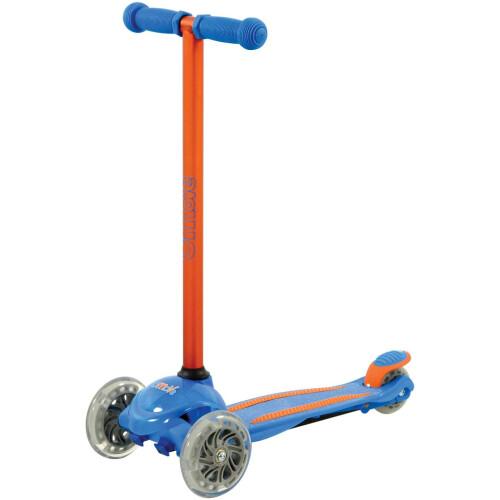 U-Move Mini LED Tilt Scooter - Blue & Orange