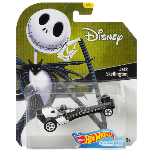 Hot Wheels Disney Character Cars Series 1 - Jack Skellington