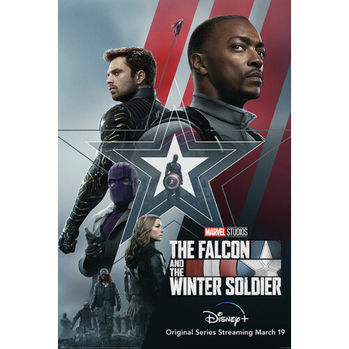Maxi Posters - The Falcon and the Winter Soldier (Stars and Stripes)