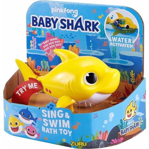 Baby Shark Sing & Swim Bath Toy - Baby