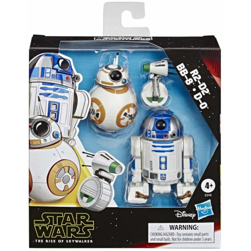 Star Wars Rise of the Skywalker - R2-D2, BB-8 and D-0