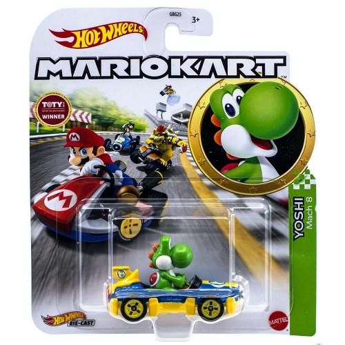 Hot Wheels Mario Kart - Yoshi (Mach 8)