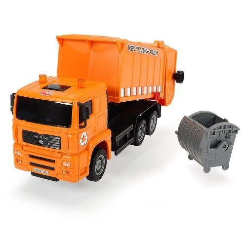 Dickie Toys Heavy City Truck - Recycling Truck