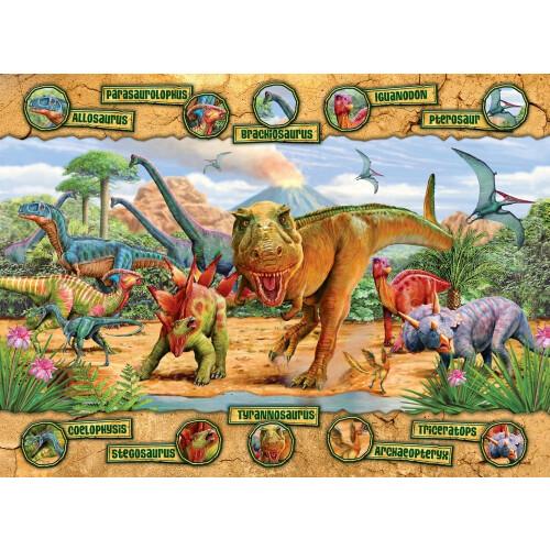 Ravensburger 100 XXL Piece Puzzle Dinosaurs