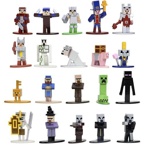 Minecraft Dungeons Nano Metalfigs 20 Pack