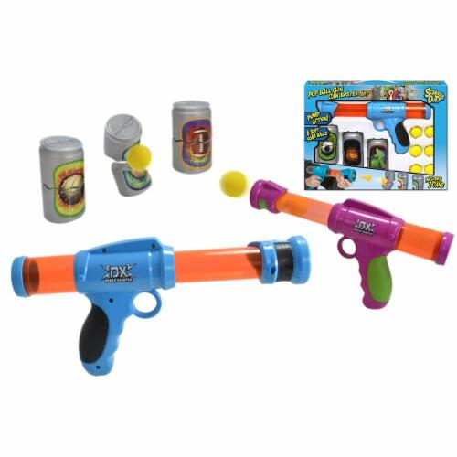 Pop Ball Gun Can Buster Set