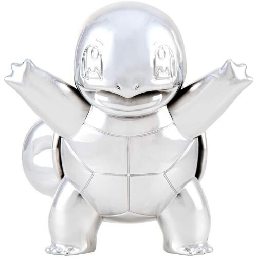 "Pokemon 3"" Silver Squirtle Figure 25TH Celebration"