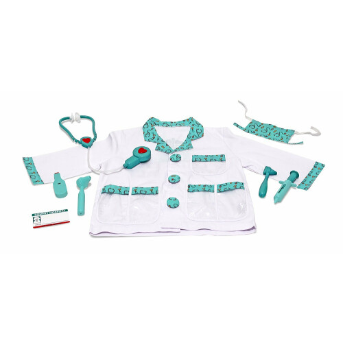 Melissa & Doug Role Play Costume - Doctor