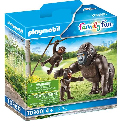 Playmobil 70360 Family Fun Gorilla with Babies