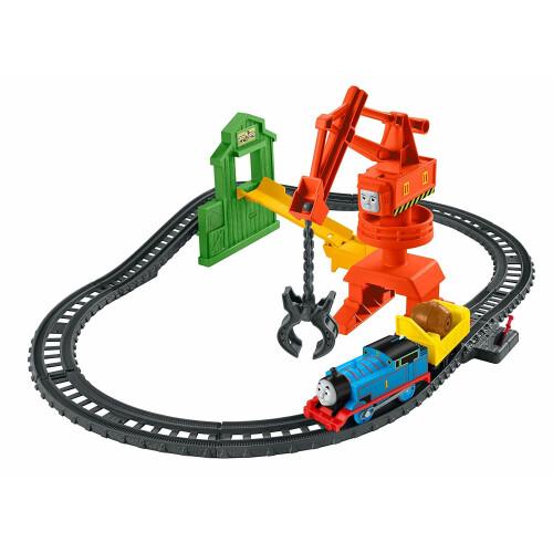 Thomas & Friends Trackmaster Motorized Engine - Cassia Crane & Cargo Set
