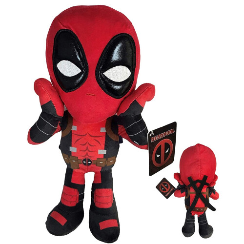 12 Inch Plush Deadpool - Shocked