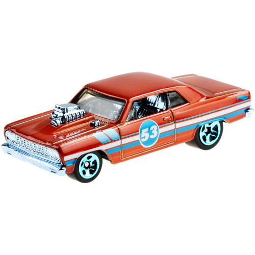 Hot Wheels Blue and Satin - '64 Chevy Chevelle SS