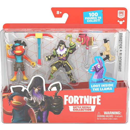 Fortnite Battle Royale Collection - Duo Pack - Fishstick & Blackheart
