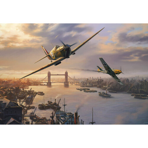 Gibsons Spitfire Skirmish 500pc Puzzle