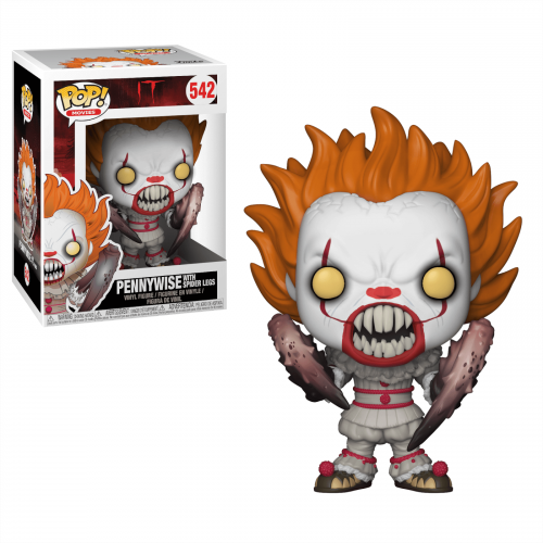 Funko Pop Vinyl Pennywise with Spider Legs 542