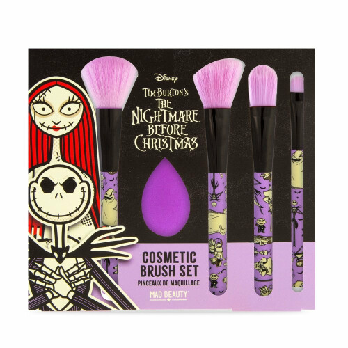 Disney The Nightmare Before Christmas Cosmetic Brush Set