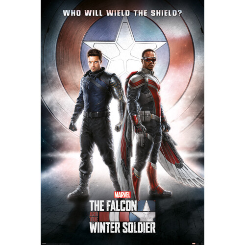 Maxi Posters - The Falcon and the Winter Soldier (Wield The Shield)
