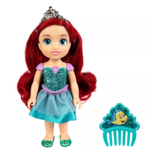Disney Princess - Petite Glittered Ariel & Comb