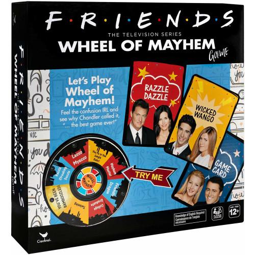Friends Wheel of Mayhem Game