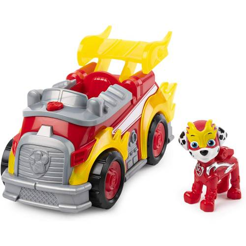 Paw Patrol Mighty Pups Super Paws - Marshall Deluxe Vehicle