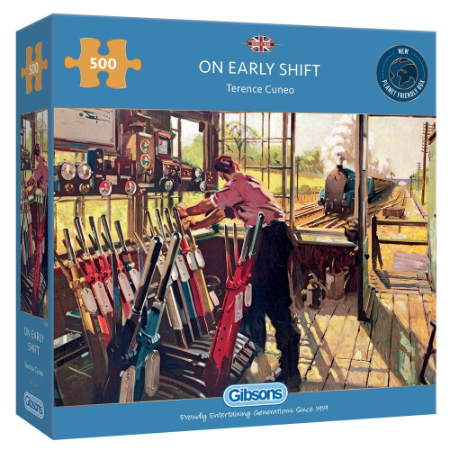 Gibsons On Early Shift 500pc Puzzle