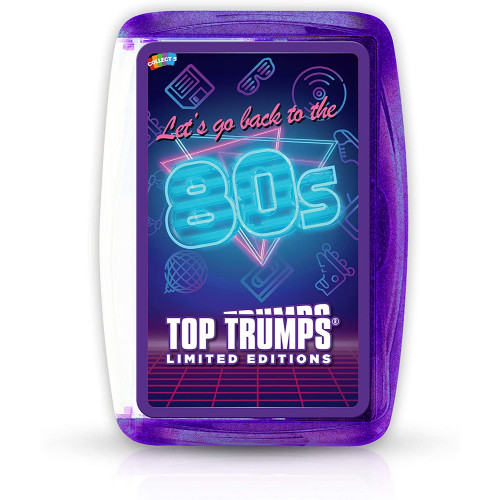 Top Trumps Let's go back to the 80's