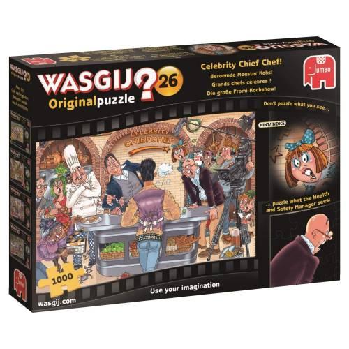 Wasgij? Original 26 1000pc Jigsaw Puzzle Celebrity Chief Chef