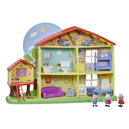 Peppa Pig Peppa's Adventures Peppa's Playtime to Bedtime House