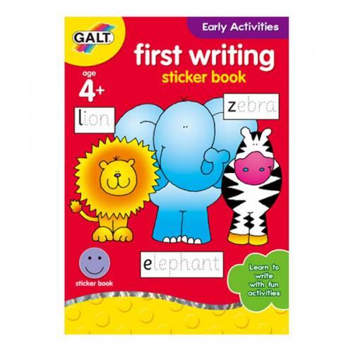 Galt First Writing Sticker Book