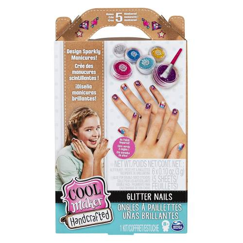 Cool Maker Handcrafted - Glitter Nails