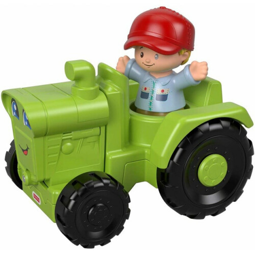 Fisher Price Little People Vehicle and Figure - Tractor